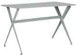 Safavieh Chapman Desk Grey Wood MDF Iron FOX2208D 889048171671
