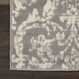 "Jubilant JUB09 Power Loomed 100% Polypropylene Grey 2'3"" x 7'3"" Runner Rug"
