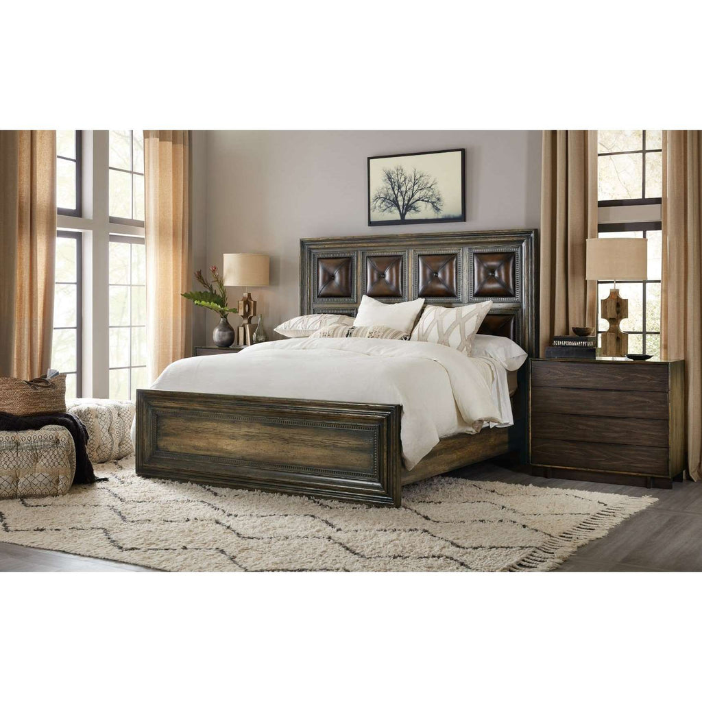 American Life Crafted Crafted Panel Bed