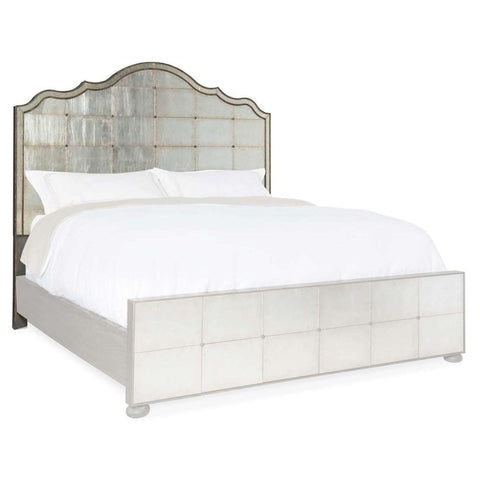 Arabella Mirrored Panel Headboard
