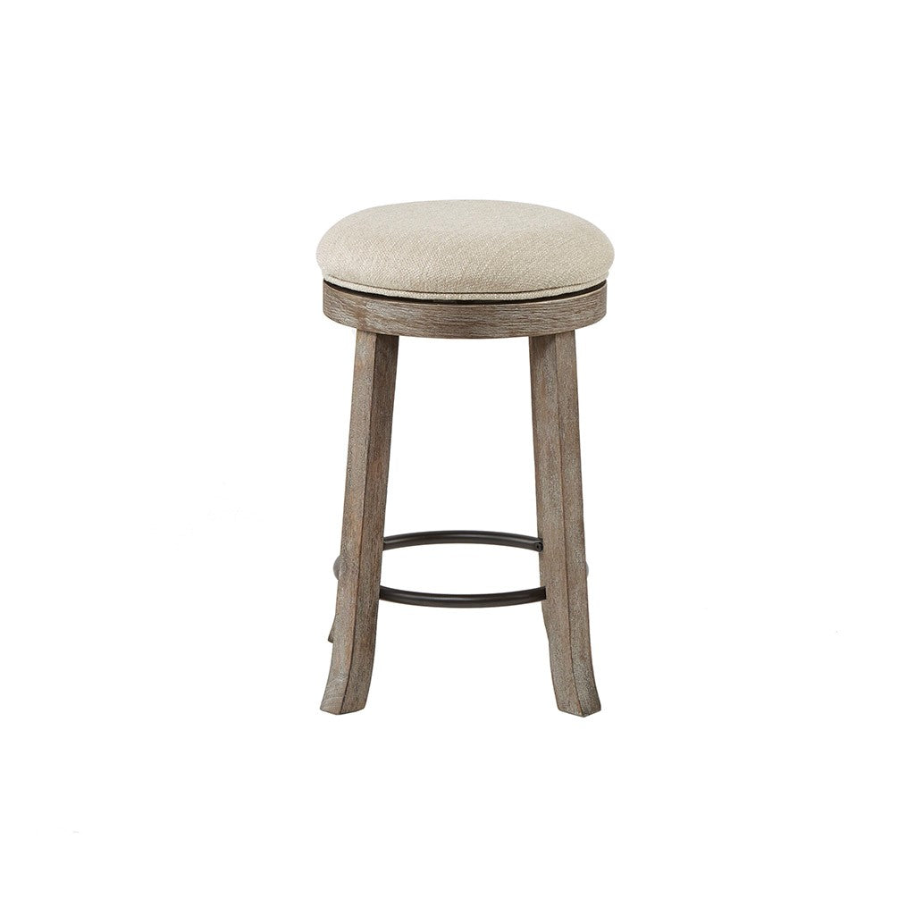 Oaktown Swivel Counter Stool in Grey