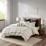 Rhea Cotton Jacquard Duvet Cover Mini Set
