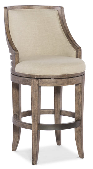 Lainey Transitional Stool - Bar Height