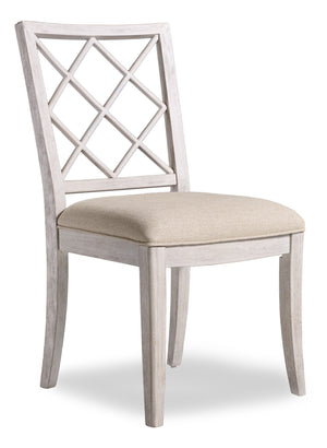 Hooker Furniture - Set of 2 - Sunset Point Casual Upholstered X Chair in Rubberwood Solids and Poplar Veneers with Fabric 5325-75510