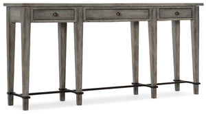 Hooker Furniture CiaoBella Casual Ciao Bella Narrow Console in Poplar and Hardwood Solids with Maple Veneer and Metal 5805-85003-96