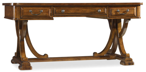 Hooker Furniture Tynecastle Traditional-Formal Writing Desk in Poplar Solids and Figured Alder Veneers 5323-10459