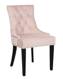 Safavieh - Set of 2 - Harlow Ring Chair Blush Mercer MCR4716F-SET2 889048656963