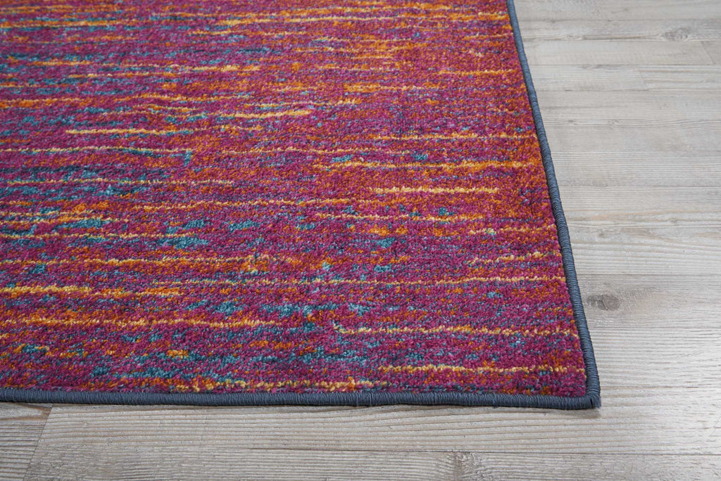 Passion PSN09 Power Loomed 100% Polypropylene Multicolor 8' x 10' Rectangle Rug