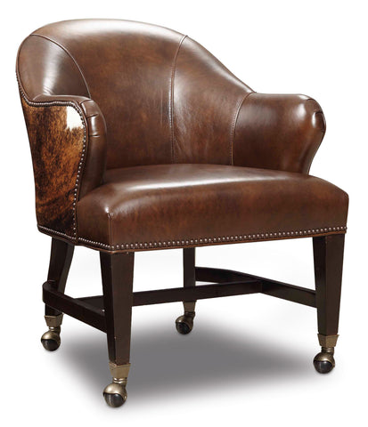 Queen Game Chair with Dark Brindle HOH