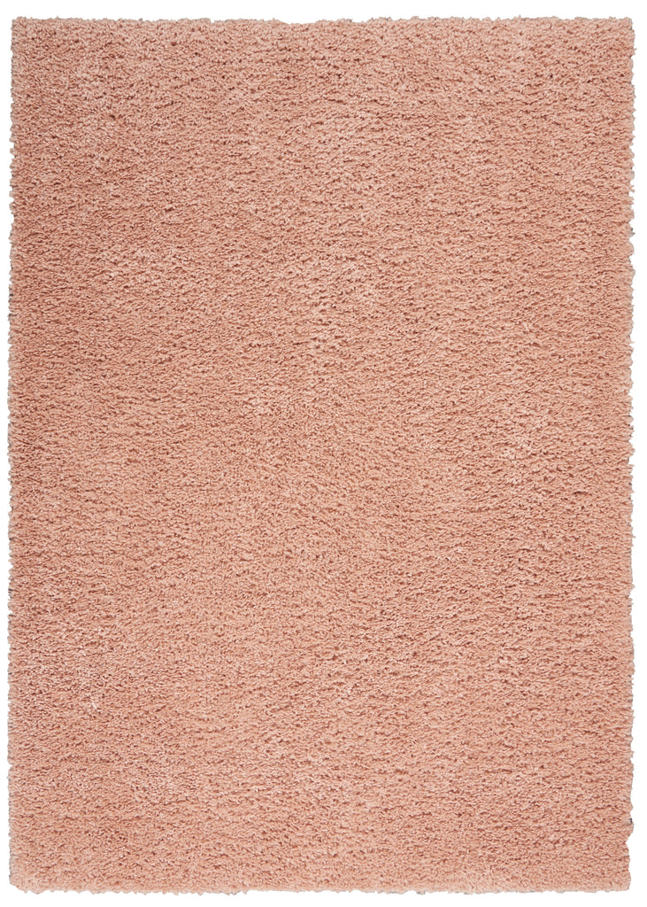 "Malibu Shag MSG01 Power-loomed 100% Polypropylene Blush 2'6"" x  4' Rectangle Rug"