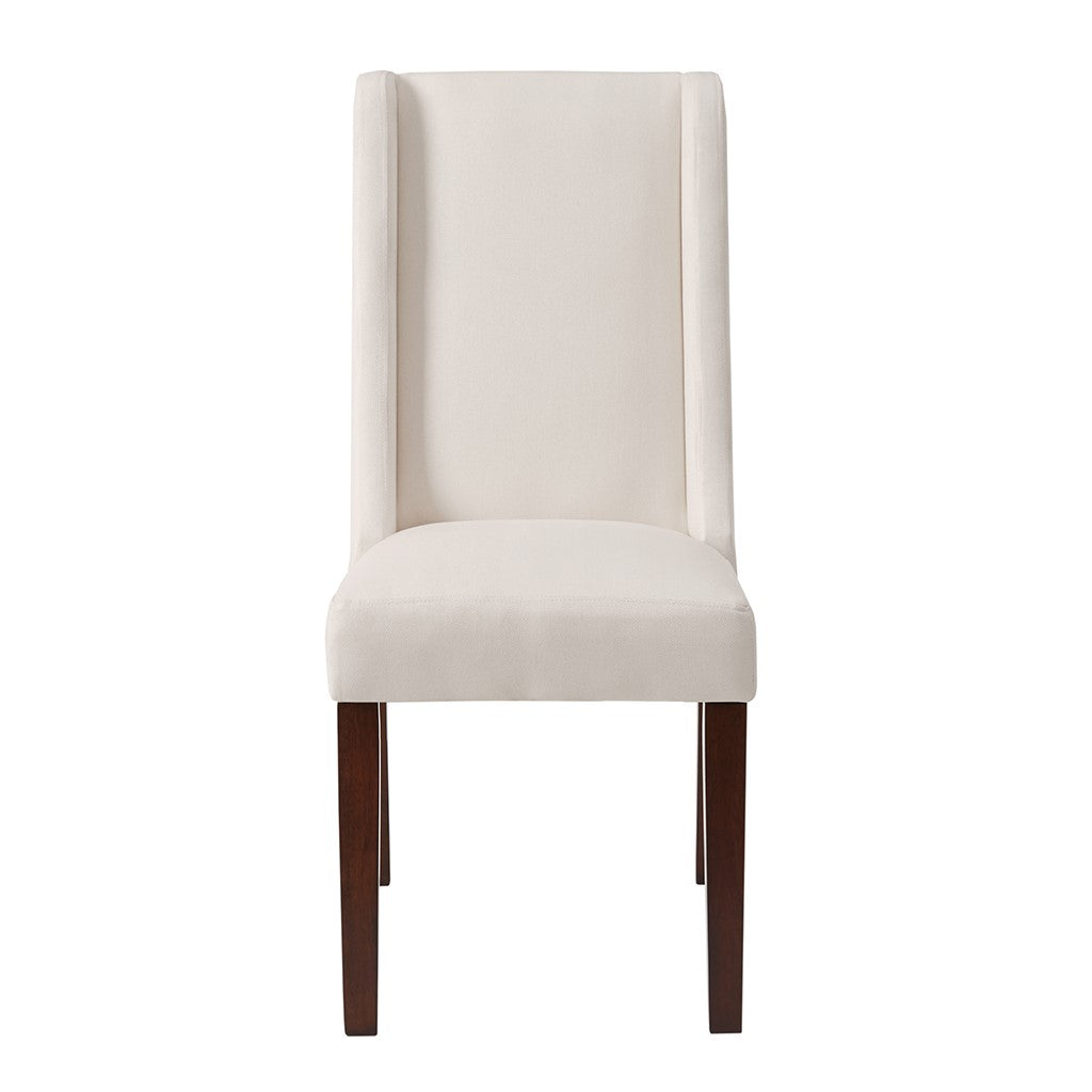 Brody Wing Dining Chair (Set of 2) in Cream