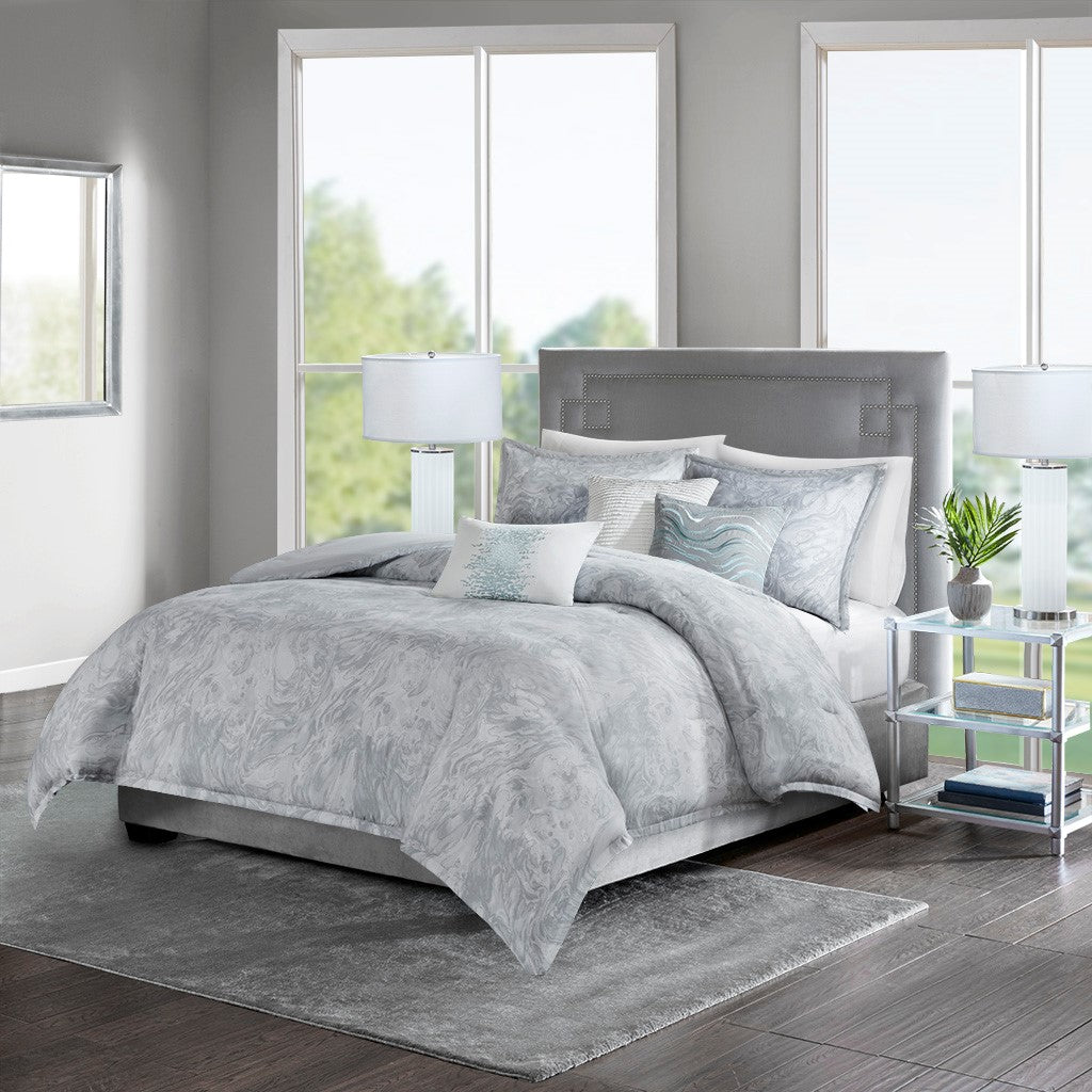 Emory Cotton Sateen Duvet Set