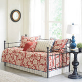 Lucy 6 Piece Cotton Twill Reversible Daybed Set Daybed