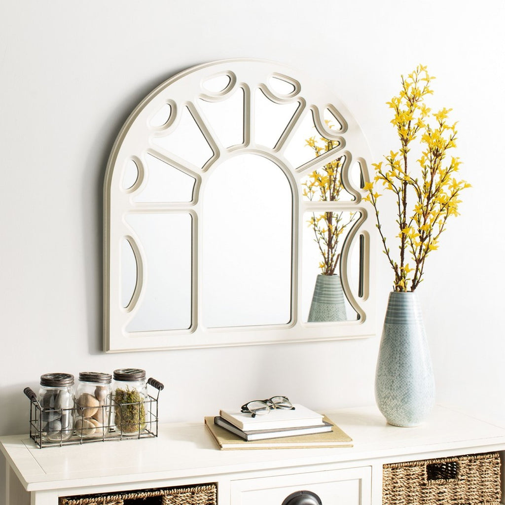 Safavieh Joelle Mirror in White