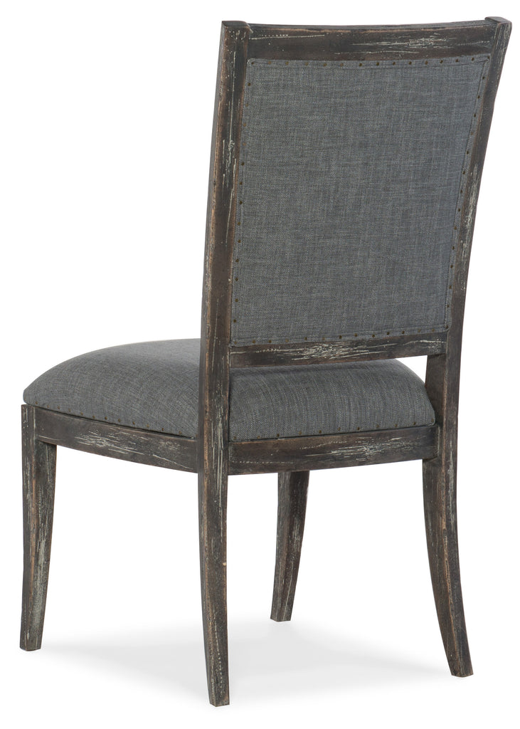 Hooker Furniture - Set of 2 - Beaumont Traditional-Formal Upholstered Side Chair in Rubberwood and Hardwood Solids with Fabric 5751-75410-89