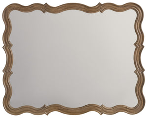 Hooker Furniture Corsica Traditional-Formal Mirror in Resin, Metal and Mirror 5180-90004