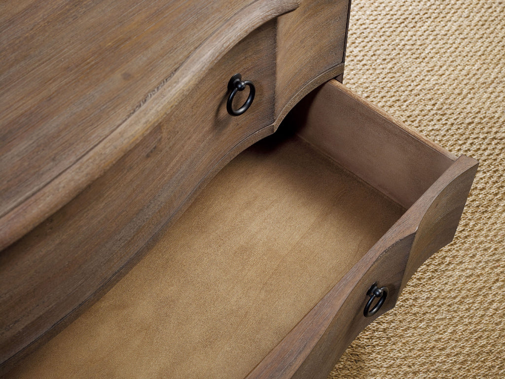 Hooker Furniture Corsica Traditional-Formal Bachelors Chest in Acacia Solids and Veneers 5180-90017