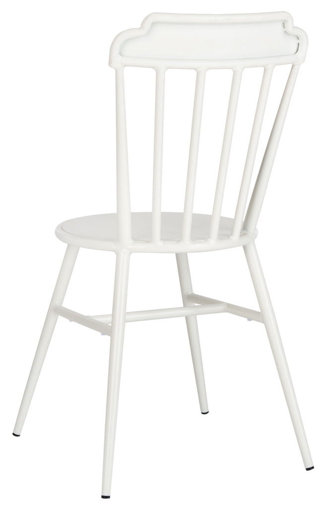 Safavieh Broderick Side Chair in White PAT3004A-SET2 889048737280