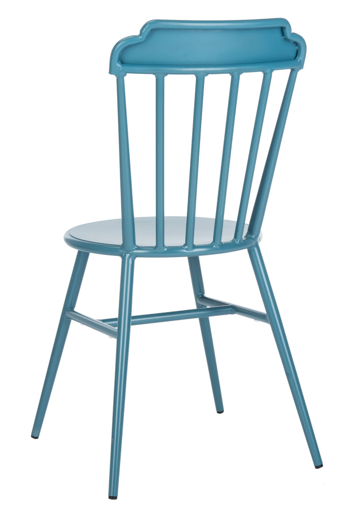 Safavieh Broderick Side Chair in Navy PAT3004C-SET2 889048737303