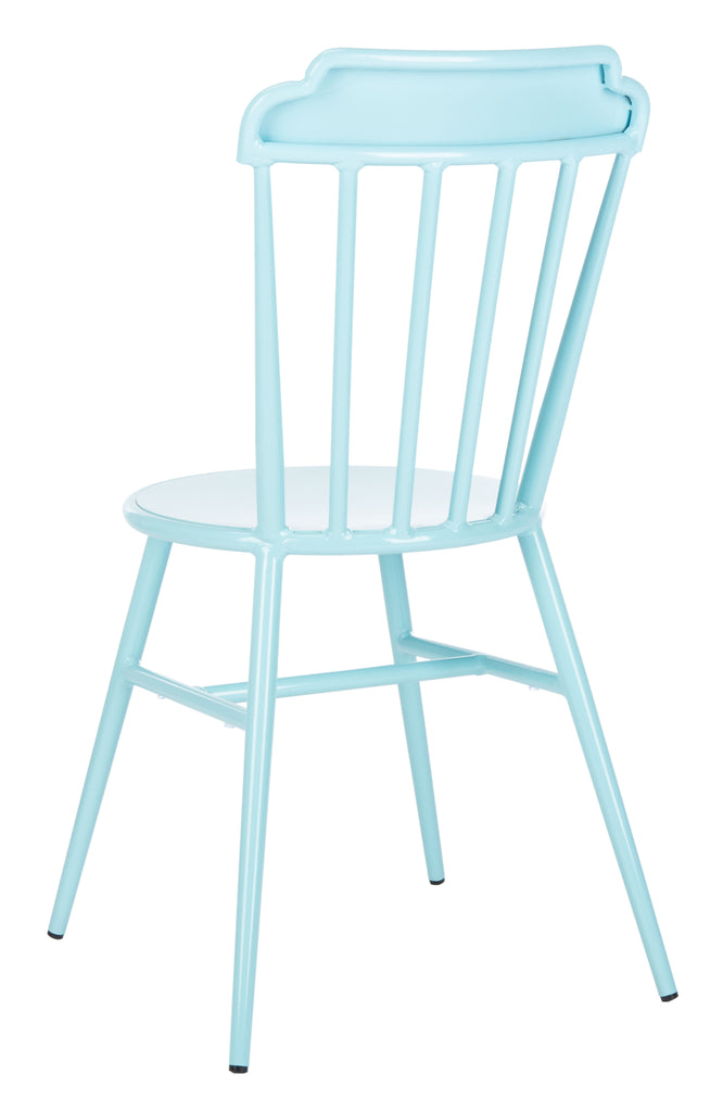 Safavieh Broderick Side Chair in Blue PAT3004D-SET2 889048737310