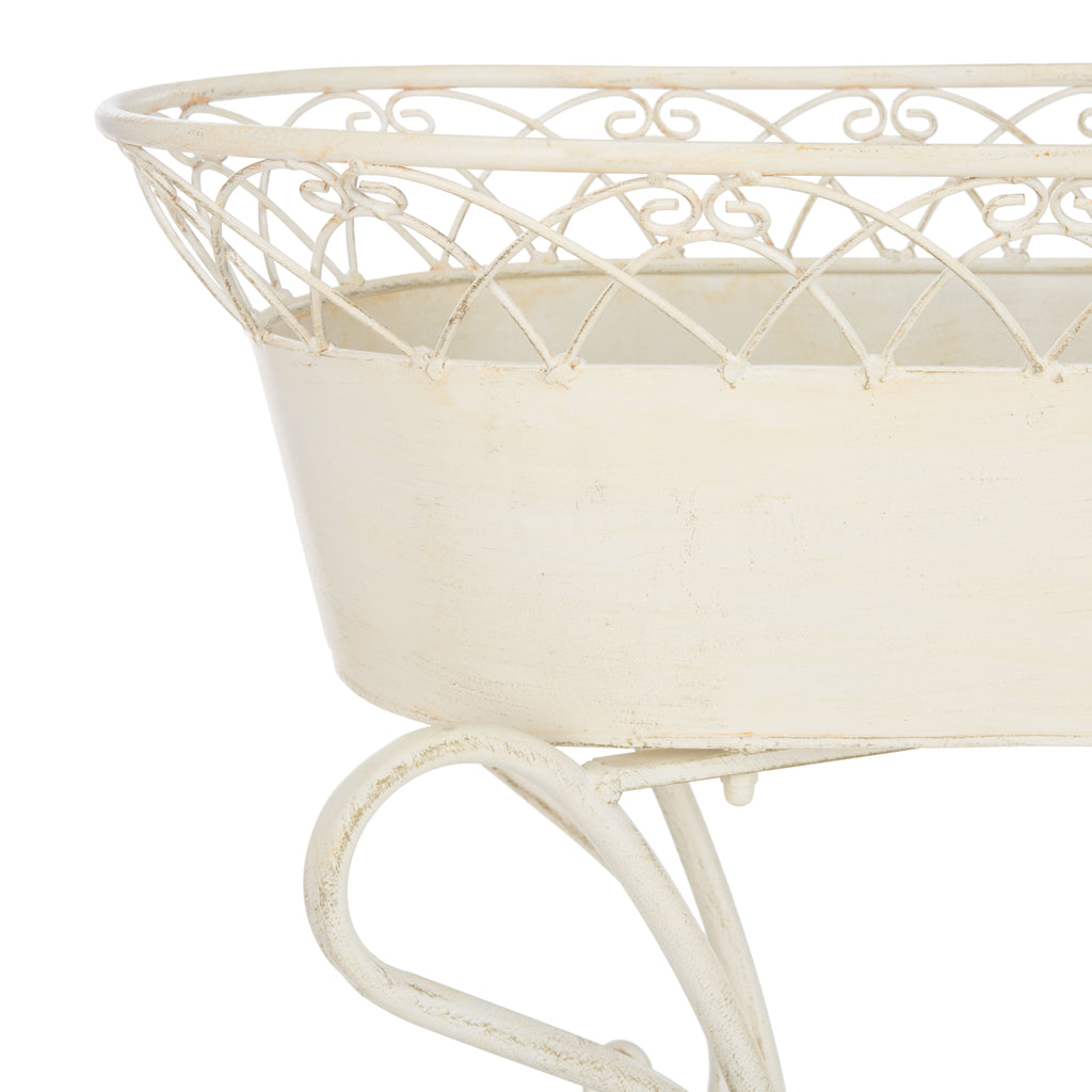 Safavieh Hendrick Planters in Pearl PAT5026A 889048765627