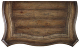 Hooker Furniture Rhapsody Traditional-Formal Bachelors Chest in Hardwood Solids & Pecan Veneers 5070-90017