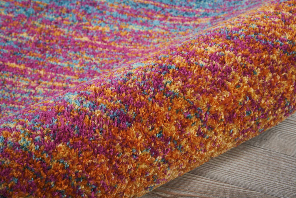 "Passion PSN09 Power Loomed 100% Polypropylene Multicolor 2'2"" x 7'6"" Runner Rug"