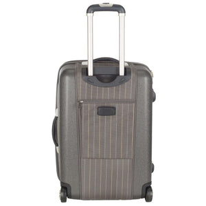 "20"" Oneonta Carry On Grey Stripe 100% Polyester LTS1001A-3PC"