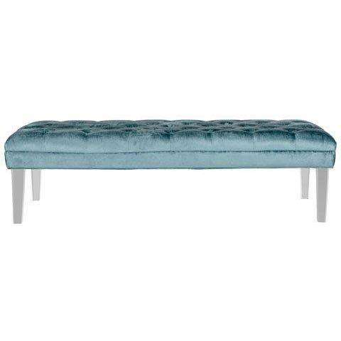 Abrosia Tufted Bench