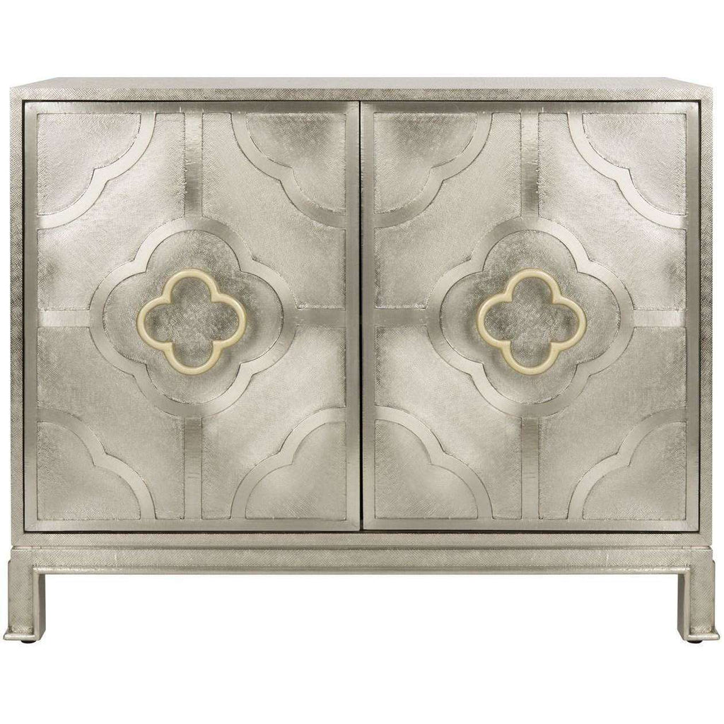 Antonella Chest Metal Champagne MDF Wood Couture