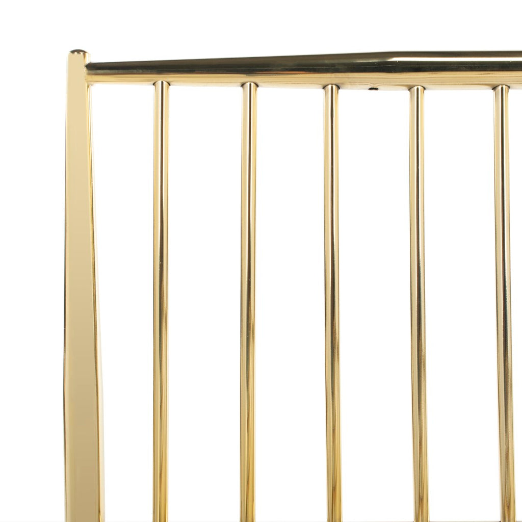 Safavieh Eliza Metal Bed Gold Brass Plated SFV2103A-Q 889048530898