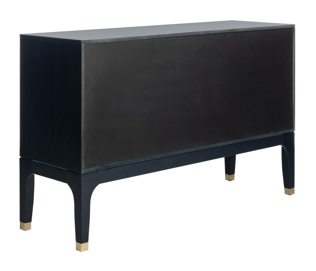 Safavieh Lorna 6 Drawer Contemporary Dresser in Navy Couture SFV2104C