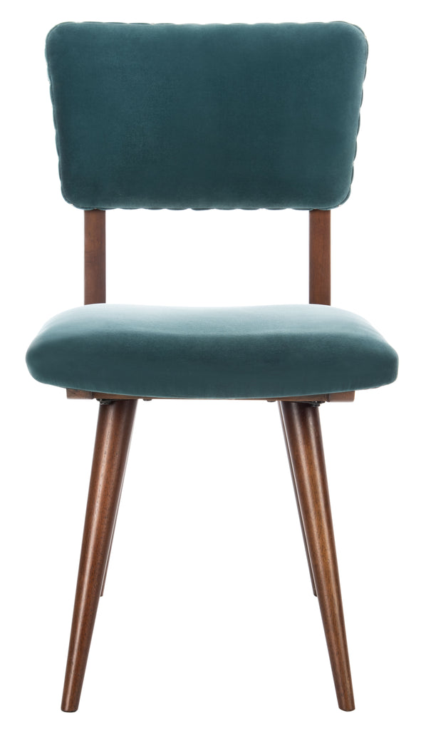 Safavieh - Set of 2 - Aurora Dining Chair Dark Teal Couture SFV7503A-SET2 889048632929