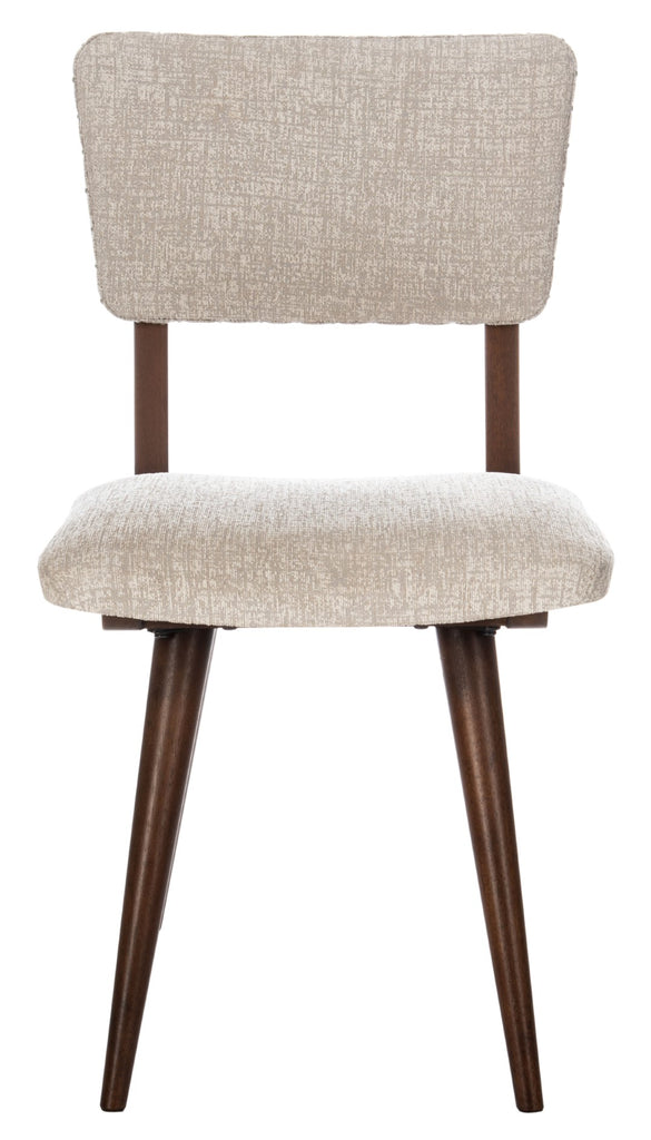Safavieh - Set of 2 - Aurora Dining Chair Taupe Couture SFV7503C-SET2 889048633575