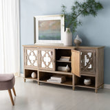 Safavieh Juliette Mirrored Sideboard in White SFV8501A 889048684119