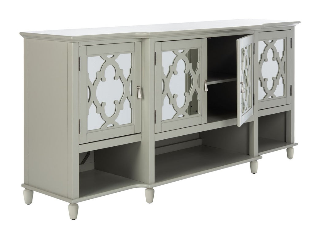 Safavieh Juliette Mirrored Sideboard in Grey SFV8501B 889048727946