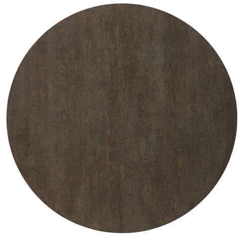 Hooker Furniture Miramar - Point Reyes Transitional Miramar Point Reyes Botticelli 60in Round Dining Table in Oak Solids and Quarter Flaky Oak Veneers with Resin and Metal 6201-75203-MULTI