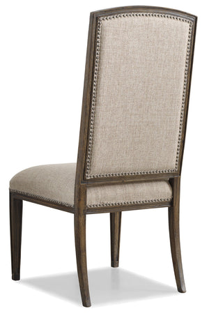 Hooker Furniture - Set of 2 - Rhapsody Traditional-Formal Side Chair in Hardwood Solids, Fabric 5070-75410