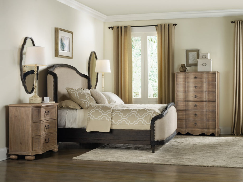 Hooker Furniture Corsica Traditional-Formal Bachelors Chest in Acacia Solids and Veneers 5180-90317