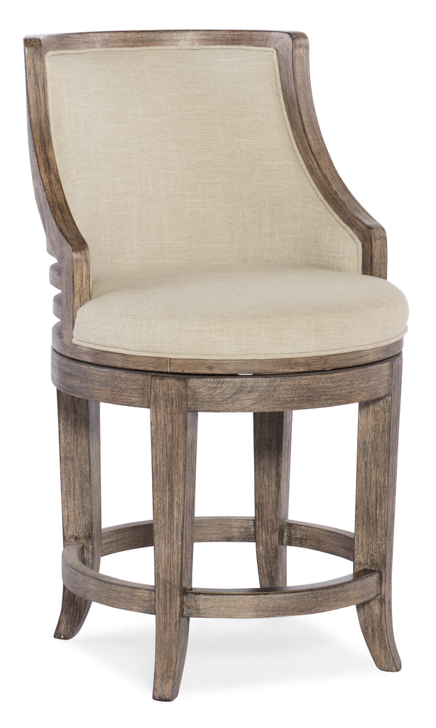 Lainey Transitional Stool - Counter Height