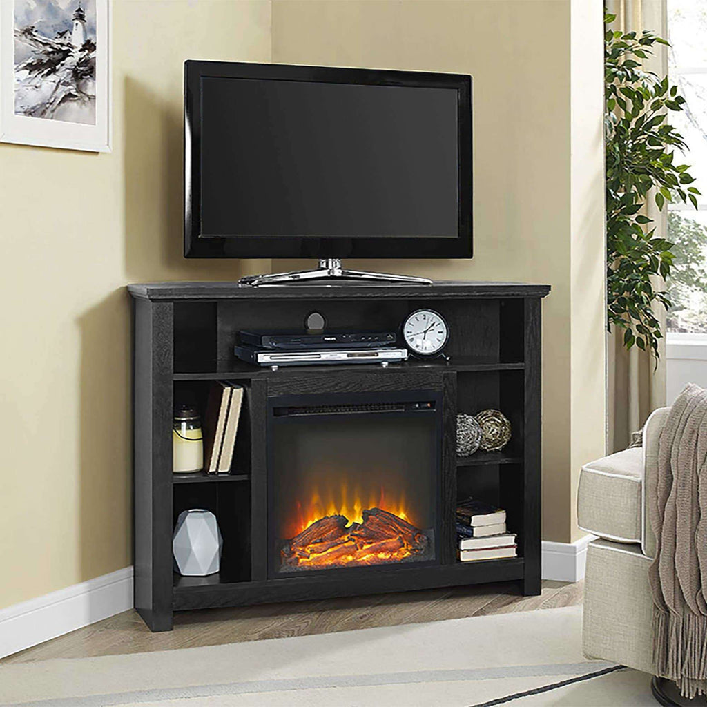 "44"" Corner Fireplace TV Stand"