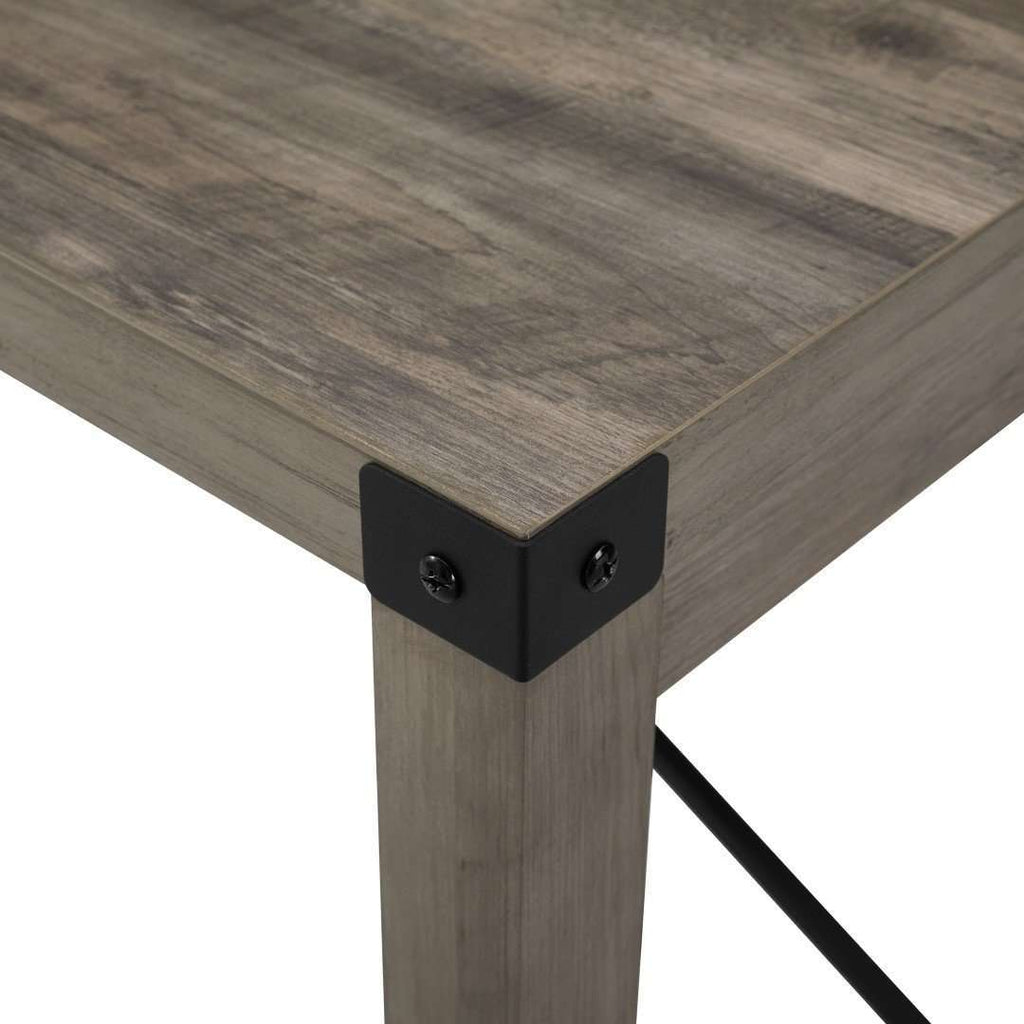 "48"" Industrial Farmhouse Dining Table"