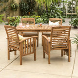 5-Piece Modern Patio Dining Set
