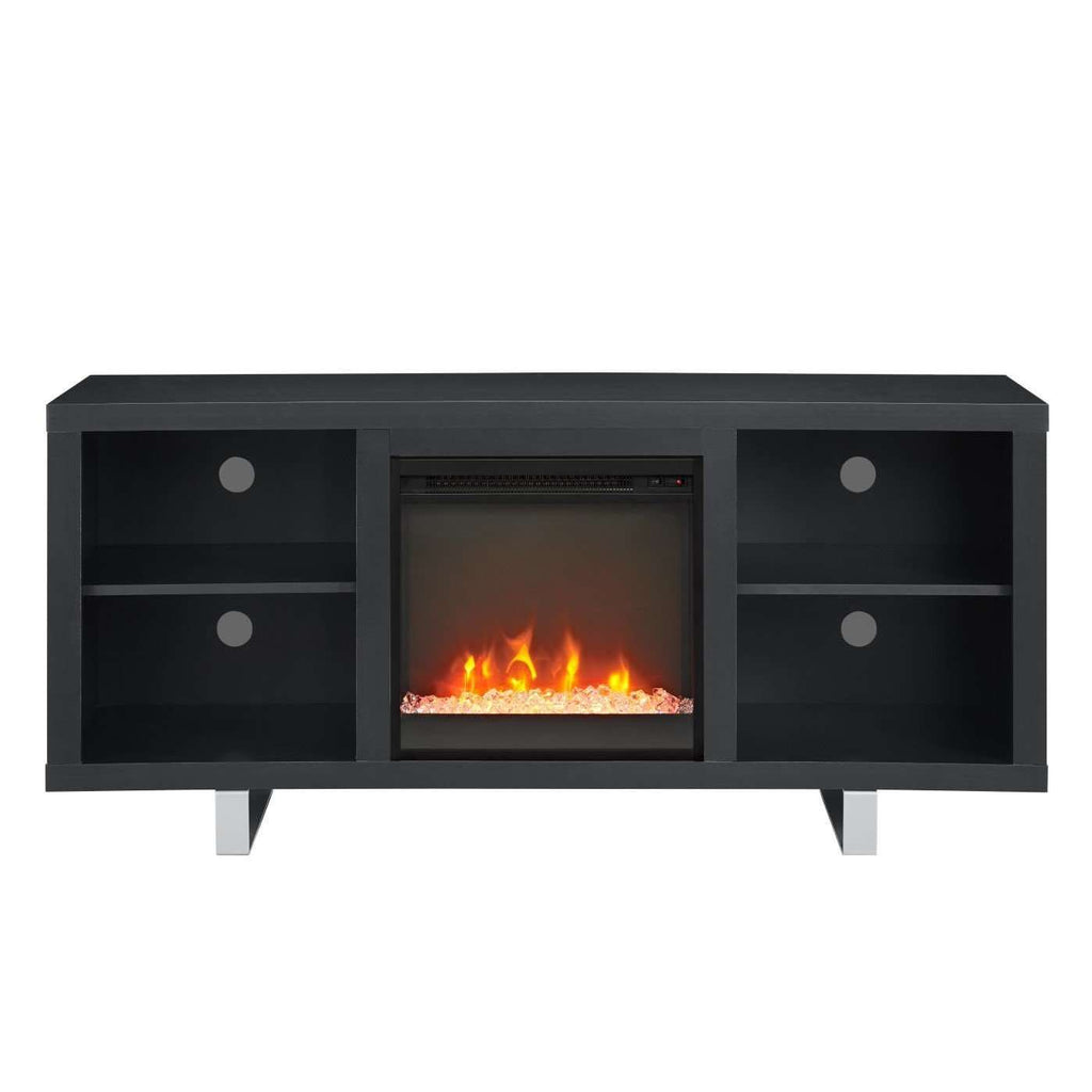 "58"" Modern Electric Fireplace TV Stand"