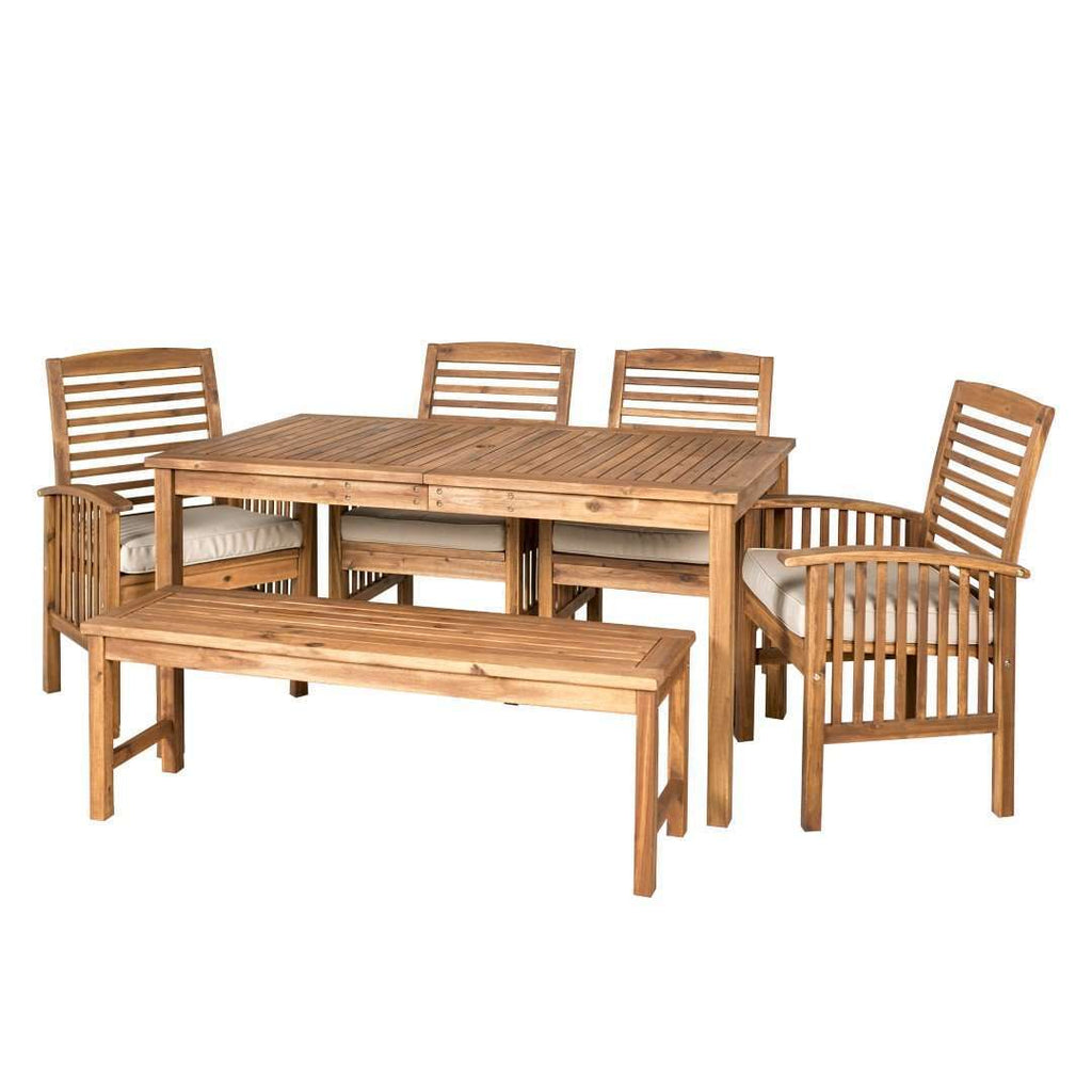 6-Piece Modern Patio Dining Set