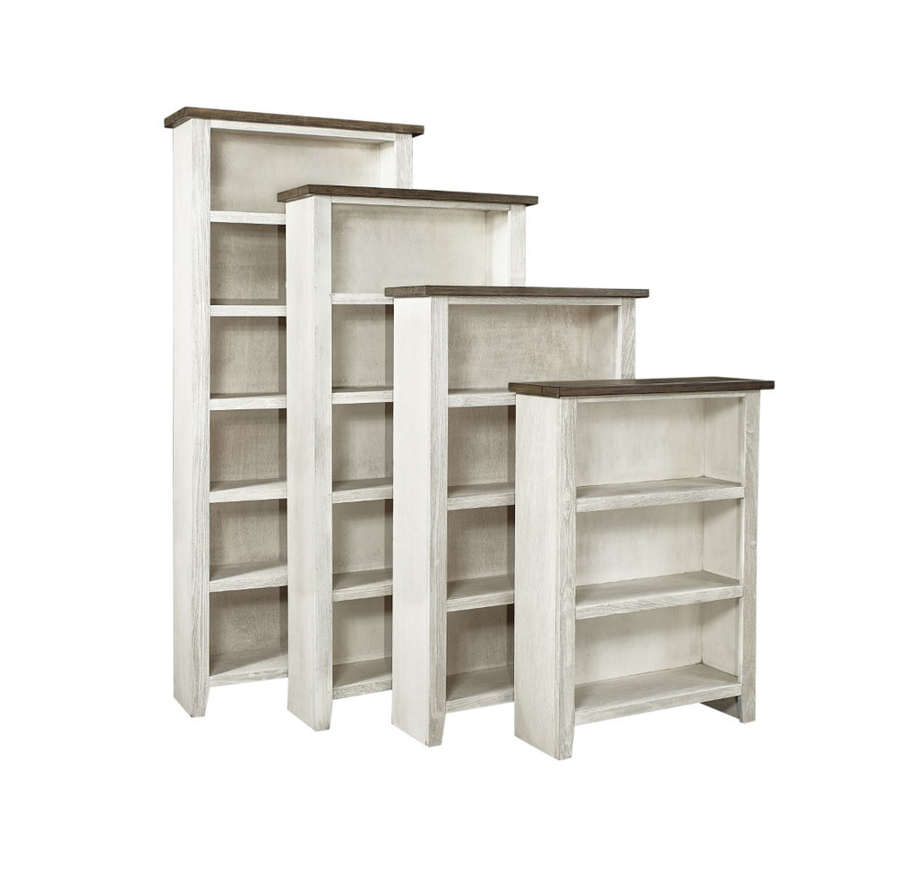"Eastport Transitional 48"" Bookcase with 2 Fixed Shelves"