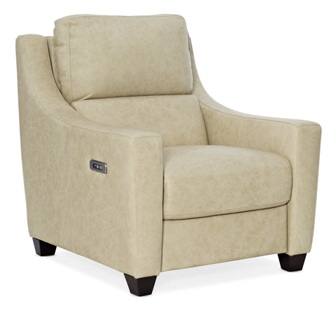 Monti Leather Recliner with Power Headrest
