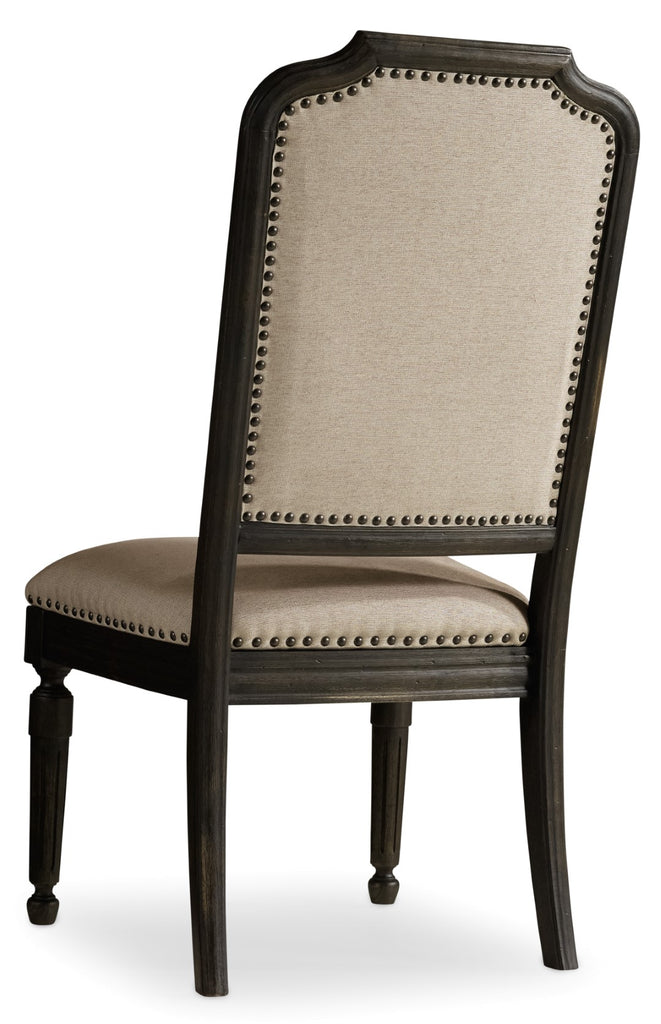 Hooker Furniture - Set of 2 - Corsica Traditional-Formal Uph Side Chair in Acacia Solids and Veneers 5280-75411