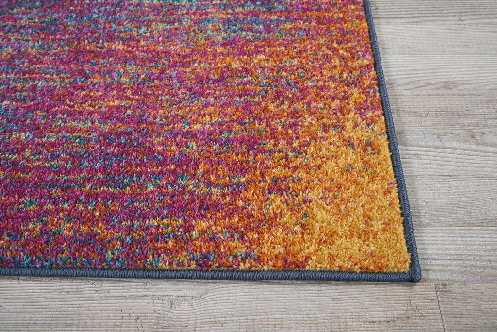 "Passion PSN09 Power Loomed 100% Polypropylene Multicolor 22"" x 34"" Rectangle Rug"