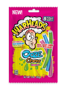 Warheads Ooze Chewz Ropes